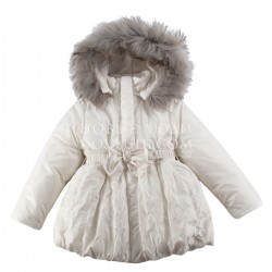 Куртка с натуральной опушкой HEART NIEWINNE SERCE NOWOŚĆ 68 - 128 cm (Ceremony)