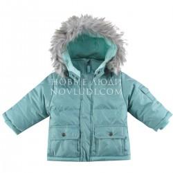 Комплект для мальчика куртка с искусственной опушкой+п/к Wojcik BUDDIES KUMPLE 62 - 98 cm