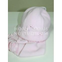 Двойная флисовая шапочка для девочки TRESTELLE