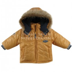 Комплект куртка с искусственной опушкой+полукомбинезон Wojcik  FOX'S MATTERS 62-98