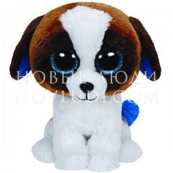 Мягкая игрушка Щенок Duke (коричневый с белым), Beanie Boo's, 15,24см