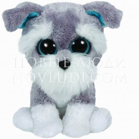 Мягкая игрушка Щенок Whiskers Beanie Boo's, 15 см