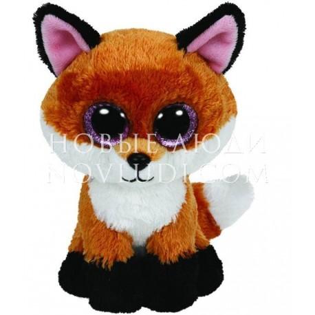 Мягкая игрушка Лисенок Slick Beanie Boo's, 15 см