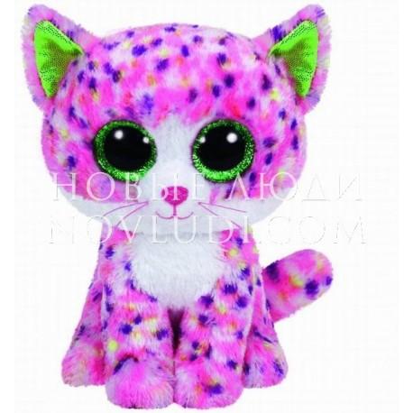 Мягкая игрушка Котенок Sophie розовый Beanie Boo's, 15 см