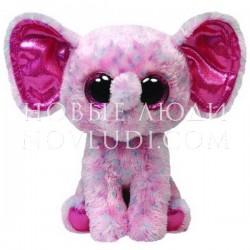 Мягкая игрушка Слоненок Ellie Beanie Boo's, 15,24 см