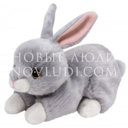 Мягкая игрушка Зайчик (серый) Nibbler Easter, 20 см