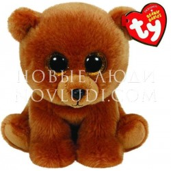 Мягкая игрушка Мишка коричневый Brownie, Beanie Babies, 15 см