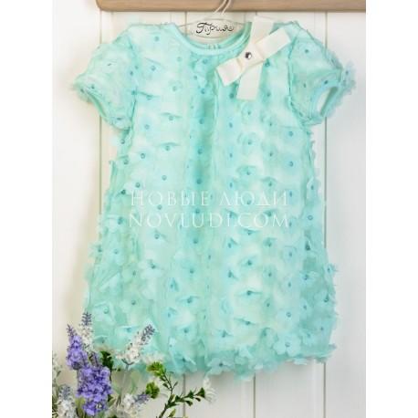 Платье коллекция День розы-тифани