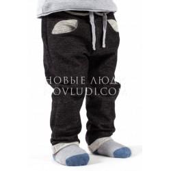 Брюки дрес для мальчика Wojcik TIGER IN SPACE (TYGRYS W KOSMOSIE) 62 - 98 cm