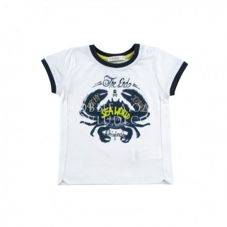 Рубашка к/р для мальчика Wojcik ON THE SEA (NA MORZU) 68 - 98 cm