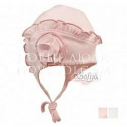 Трикотажная шапочка для девочки FIORELLA Sofija