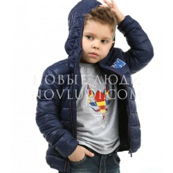 Куртка ветровка утепленная для мальчика Wojcik PLAYFULL GEOMETRY