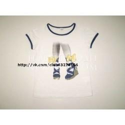 Футболка для девочки Wojcik I LOVE HOLIDAYS 92-134