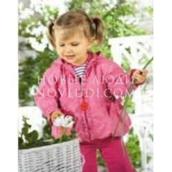 Куртка ветровка для девочки Wojcik Tumbelina