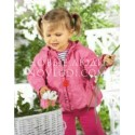 Куртка ветровка для девочки Wojcik Tumbelina1 68-86