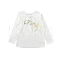 Лонгслив для девочки Wojcik Lady Diamond VERONA 110-152