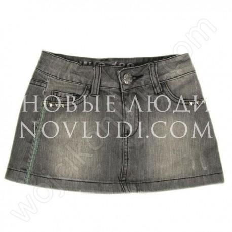 Юбка джинс для девочки Wojcik NEW YORK CITY 128-152