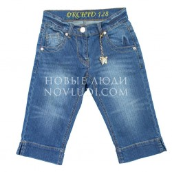 Шорты джинс для девочки Wojcik DZIKA ORCHIDEA2 128-152