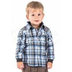 Рубашка для мальчика Wojcik FOREST CAMP (LEŚNY OBÓZ) 62 - 98 cm