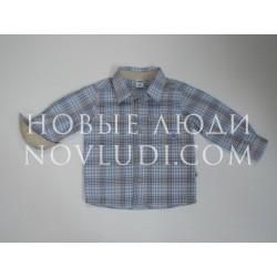 Рубашка д/р для мальчика Wojcik WANT TO BE A TRAIN DRIVER (CHCĘ ZOSTAĆ MASZYNISTĄ) 68-98