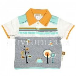 Рубашка поло для мальчика Wojcik FUNNY PRANKS(ZABAWNE PSOTY) 68-86
