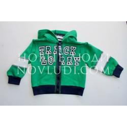 Блуза (кангур) для мальчика Wojcik SLAD CIEZAROWKI(TRACK LORRY) 68-86