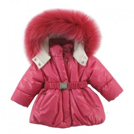 Комплект (куртка+полукомбинезон) с натуральной опушкойWojcik FLUFFY CUDDLY (PUSZYSTE PRZYTULANKI)