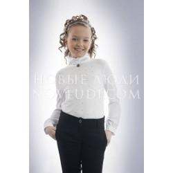 Блузка школьная для девочки PACCO