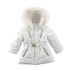 Куртка с натуральной опушкой Ceremony by Wojcik  SHINE (BLASK) 98-146