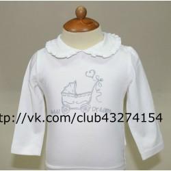Рубашка д/р для девочки SWEET DREAMS (SŁODKICH SNÓW) 74-98 Ceremony by Wojcik