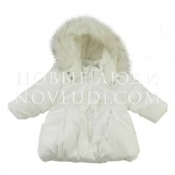 Куртка для девочки с искусственной опушкой SWEET DREAMS (SŁODKICH SNÓW) 74-98 Ceremony by Wojcik