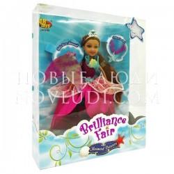 Кукла Русалка Brilliance Fair с подвеской и съемным хвостом FUNVILLE
