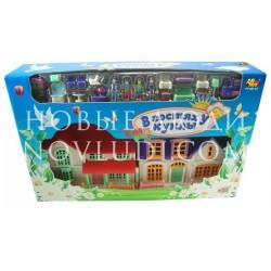 Дом В гостях у куклы, в коробке, 40,5х8х26см
