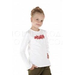 Лонгслив для девочки Wojcik MILITARY GLAM 134-158