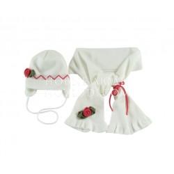 Комплект шапка+шарф для девочки Wojcik Брюки Wojcik ENCHANTED 68-98
