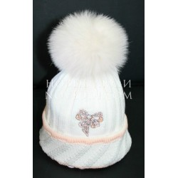 Зимняя шапка для девочки Pilguni