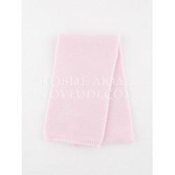 Светло-розовый шерстяной шарфик Миалт
