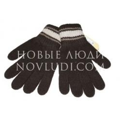Перчатки с кашемиром,шерстью для мальчика 4-6 лет