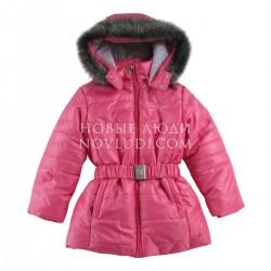 Куртка с искусственной опушкой для девочки Wojcik EXPRESS EMOTIONS S WYRAZIĆ EMOCJE (104 - 146 cm)