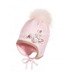 Зимняя шапка для девочки ROSE Jamiks