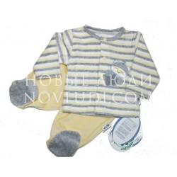 Велюровый комплект для малыша Енот GLUCK(Польша)
