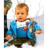 Блуза(кангур) для мальчика Wojcik Fajna wycieczka z najlepszym kumplem 1 (Cool trip with best buddy 1) 62-86