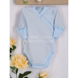 Боди для новорожденного мальчика Нежный возраст Кантри