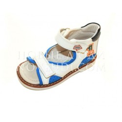 Кожаные сандалики для мальчика WOOPY