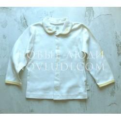 Кофточка с вышивкой для новорожденного Gluck