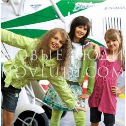 Легкая куртка для девочки Wojcik Zyciodajna energy color 128-152