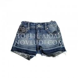 Шорты джинс для девочки Fashion Chic BRUMS