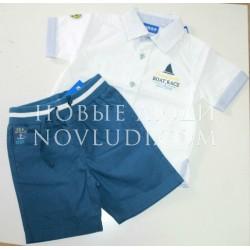 Комплект для мальчика шорты+рубашка UBS-2
