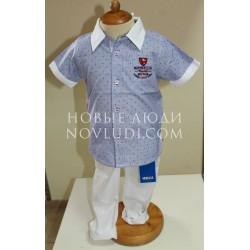 Комплект для мальчика рубашка+брюки UBS-2