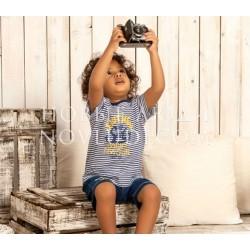 Трикотажный костюмчик для мальчика UBS-2
